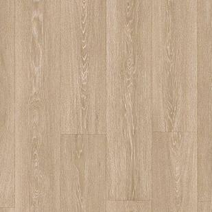 Ламинат водостойкий для кухни, спальни, офиса Quick Step MAJECTIC Дуб долинный светло-коричневый 3555 с фаской