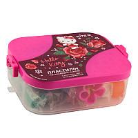 Пластилин Kite Hello Kitty HK19-080 в пластиковом боксе, 7 цветов + 8 инструментов