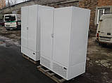 Холодильный шкаф Технохолод б у, Холодильный шкаф глухой б у, двухдверный холодильный шкаф б у, фото 4