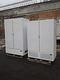 Холодильный шкаф Технохолод б у, Холодильный шкаф глухой б у, двухдверный холодильный шкаф б у, фото 5