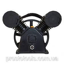 Компрессорная головка (блок) 2-х цилиндровая V-образная 850 л/мин Forsage