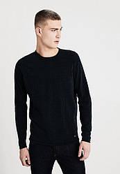 Мужской черный джемпер Easy от Mustang jeans в размере M (UA 48/50)