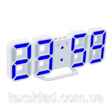 Электронный часы EL-6609 blue (22.5x8см)