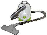 Пылесос мешковой ASTOR VC - 1837 многоразовый мешок для уборки полов мебели ковров штор 1800Вт для дома