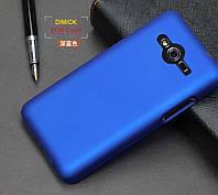 Пластиковый чехол для Samsung G355H Galaxy Core 2 синий