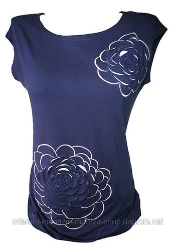 Женская футболка полубатал