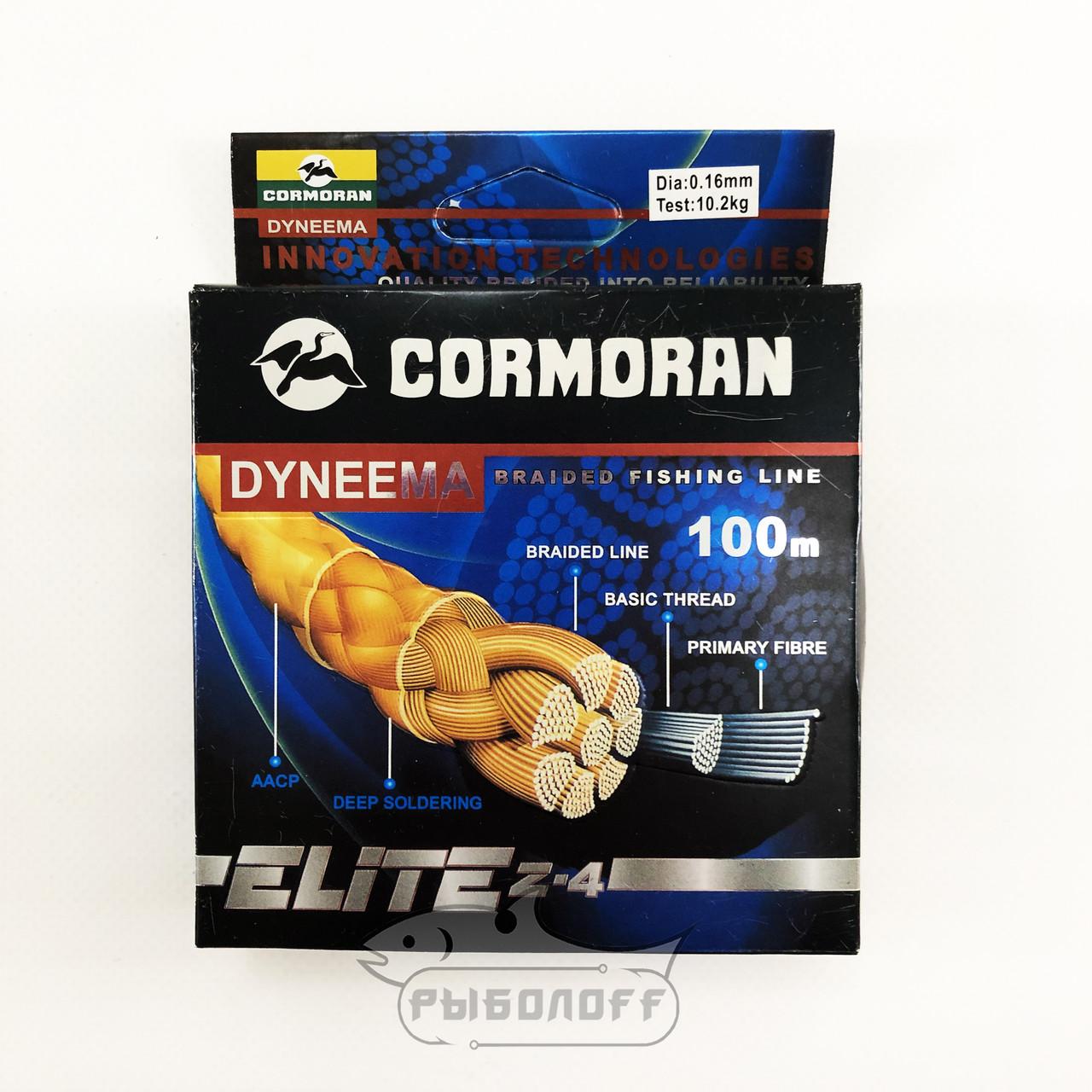 Плетёный шнур Cormoran Elite Z-4 100m