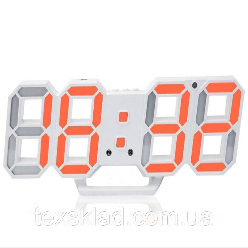 Электронный часы EL-6609 red (22.5x8см)