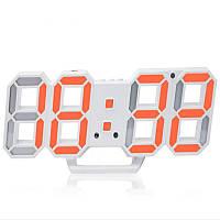 Електронний годинник EL-6609 red (22.5х8см)