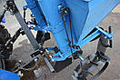 """Картоплесаджалка дворядна """"Преміум"""" для мінітрактора з бункером для добрив (3т), фото 2"""