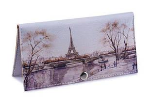 Кошелек клатч Осенний Париж