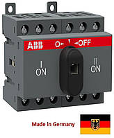 Реверсивный рубильник ABB OT40F3C 40A 3-полюсный