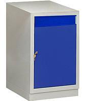 Тумба інструментальна з дверима і ящиком МД, верстачная