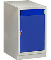 Тумба инструментальная с дверью и ящиком МД, верстачная