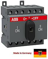 Реверсивный рубильник ABB OT63F3C 63A 3-полюсный