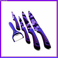 Набор ножей UNIQUE UN-1805 4+1