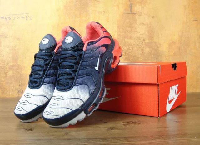 Nike Air Max Tn Plus Navy Blue Red