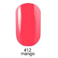Гель-лак Naomi (Наоми) 12 мл №12 глянцевый кремово-персиковый