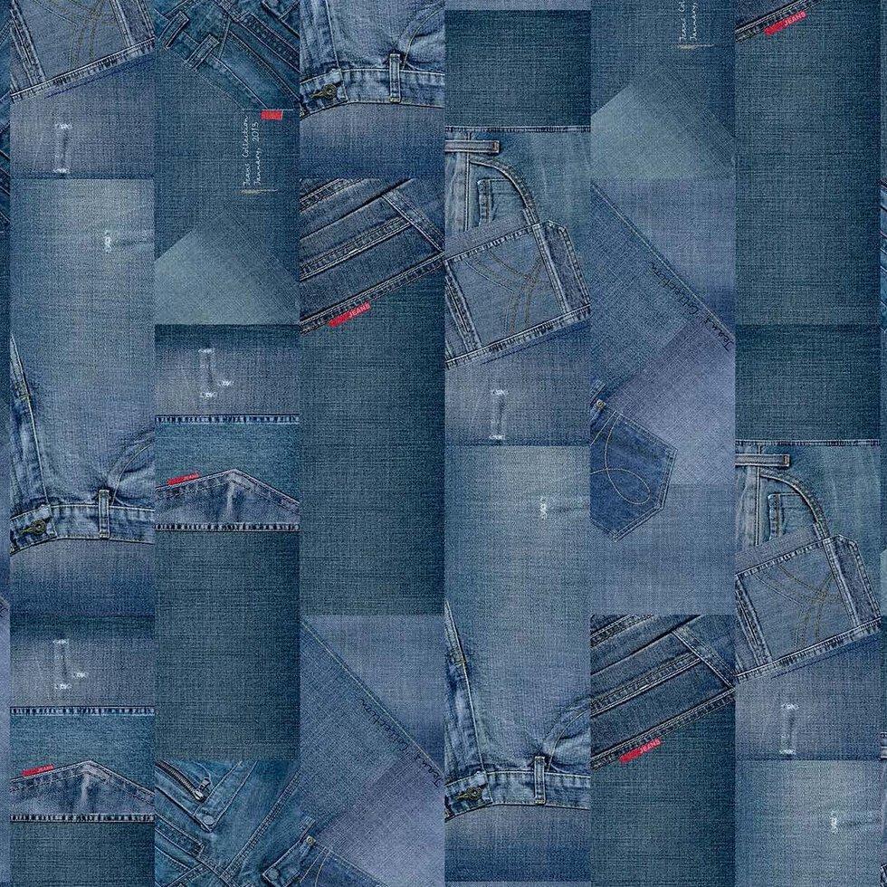 Сorkstyle Adventures Children Jeans пробкова підлога з фотодруком 33 клас 5мм товщина