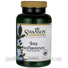 Соевые изофлавоны, Soy Isoflavones, Swanson, 120 капсул
