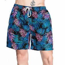 Шорты мужские пляжные синие - 156-01, фото 3