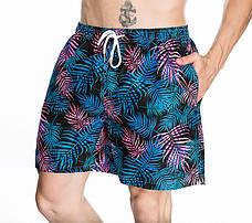 Шорты мужские пляжные синие - 156-01, фото 2