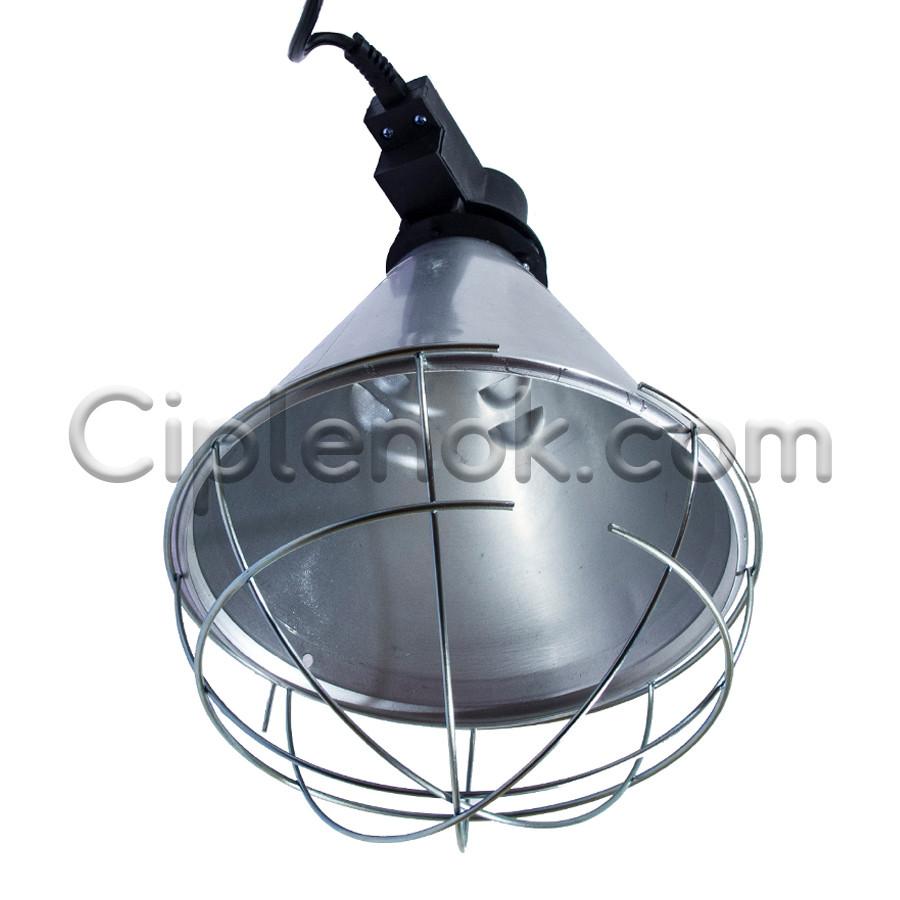 Защитный плафон (абажур) для инфракрасной лампы (без переключателя) мал.