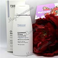 Cleanser Strong AHA-BHA 9% NATINUEL Біо-очисний препарат для жирної і проблемної шкіри, 150 ml