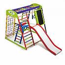 Акция! Деревянный детский Спортивный комплекс для малышей для дома Спортбейби  «ЮнгаPlus 3», фото 3