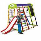 Акция! Деревянный детский Спортивный комплекс для малышей для дома Спортбейби  «ЮнгаPlus 3», фото 6