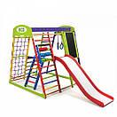 Акция! Деревянный детский Спортивный комплекс для малышей для дома Спортбейби  «ЮнгаPlus 3», фото 8