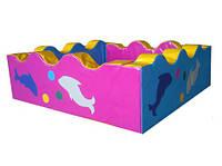 Сухой бассейн Волна Airis (200х200х60/15), фото 1