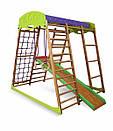 Акция! Деревянный Детский спортивный комплекс для квартиры для малышей «Карамелька мини» Спортбейби SportBaby, фото 6