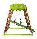 Акция! Деревянный Детский спортивный комплекс для квартиры для малышей «Карамелька мини» Спортбейби SportBaby, фото 7