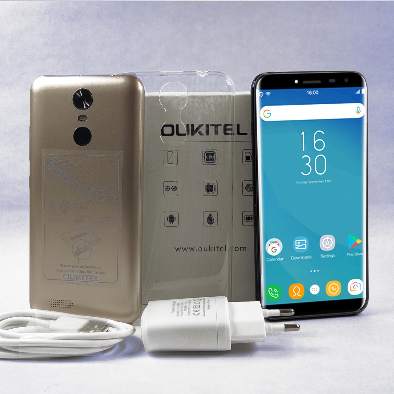 "Oukitel c8 5,5"" | 2/16Gb | Android 7 | 3000 мАч + Бампер, пленка"