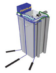 Станція біологічної очистки в залізобетонному корпусі AQUALITA-AIRsept
