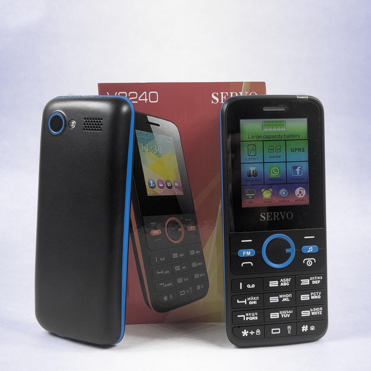 Телефон мобильный SERVO V8240 | 1500 мАч | 2 Sim