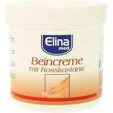 Крем для ніг з кінським каштаном Elina 250 ml