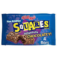 Батончики Kellogg's Squares Chocolatey Упаковка