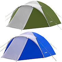 Палатка туристическая ACCO-2 2-х местная (Клеенные швы, тамбур)