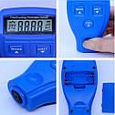Точный автомобильный толщиномер GM-200 (измерение ЛКП, краски)  Синий, фото 2