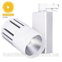 Трековый светодиодный светильник Feron AL105 40w (белый)