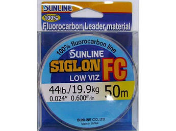 Флюорокарбон Sunline SIG-FC 50м диаметр в ассортименте