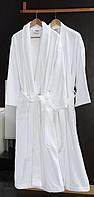 Халат  махровый белый р.L ,р.XL (кимоно),Турция VIP,пл.450г