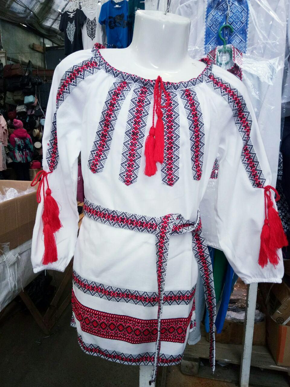 Детское вышитое платье  Смеричка.