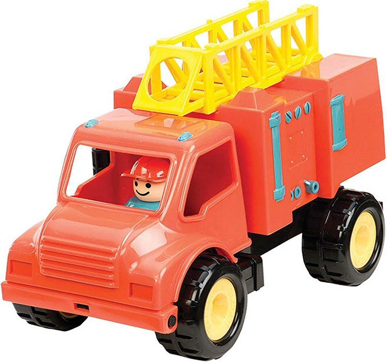 Іграшка серії Перші машинки Пожежна машина з фігуркою водія Battat BT2451Z