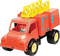 Игрушка серии Первые машинки Пожарная машина с фигуркой водителя Battat BT2451Z, фото 1