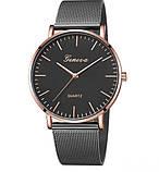 Женские часы Geneva черные. Стиль и качество! , фото 2