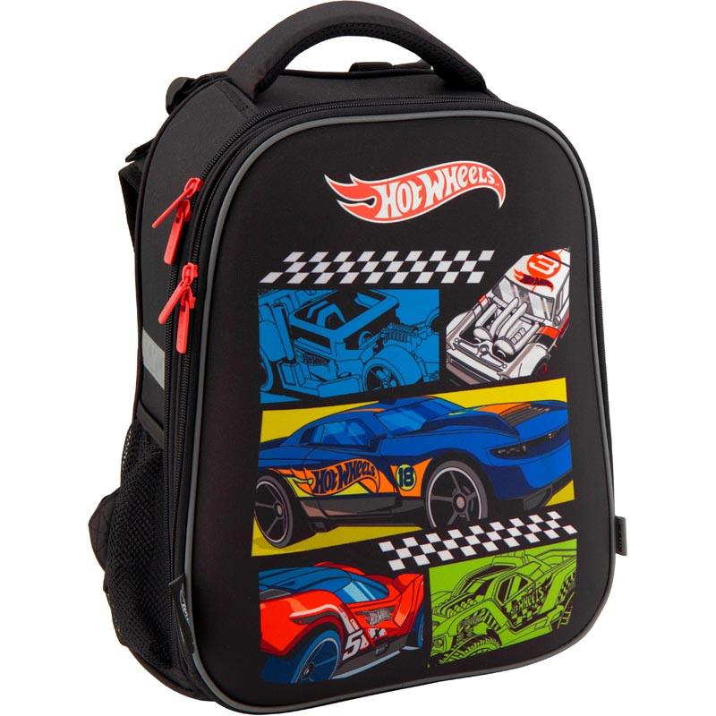 c0b718d3d160 Рюкзак Kite Hot Wheels HW19-531M школьный каркасный детский для мальчиков  38 см* 29