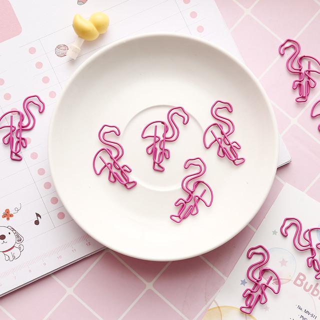 Скрепки Фламинго